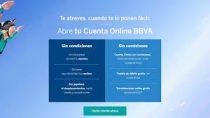 Los requisitos para abrir Cuenta BBVA Online son mínimos